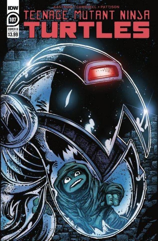 Teenage Mutant Ninja Turtles #107 (Eastman Cover)
