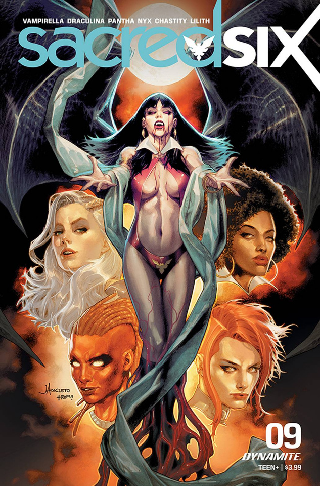 Sacred Six #9 (Anacleto Cover)