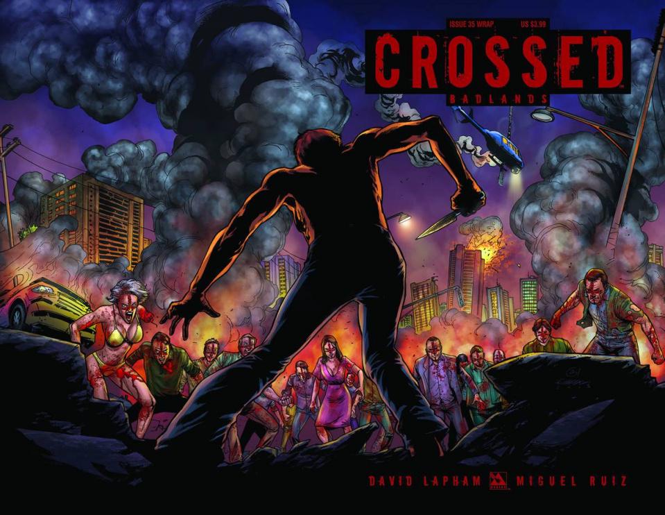 Crossed: Badlands #35 (Wrap Cover)