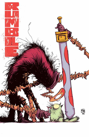 Rumble #14 (Young Cover)