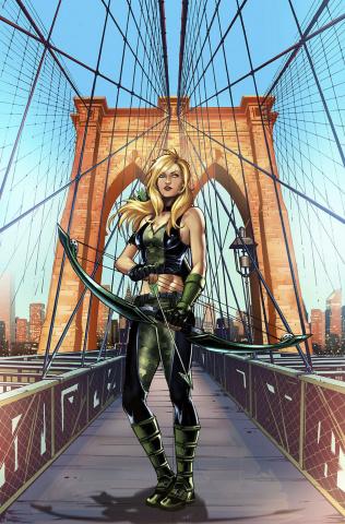 Grimm Fairy Tales: Robyn Hood - I Love NY #8 (Riveiro Cover)