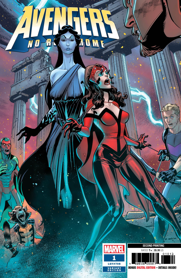 Avengers: No Road Home #1 (Medina 2nd Printing)