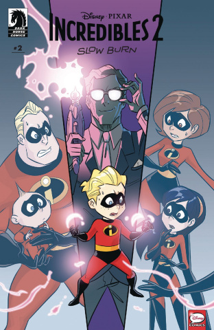 Incredibles 2: Slow Burn #2 (Vinci Cover)