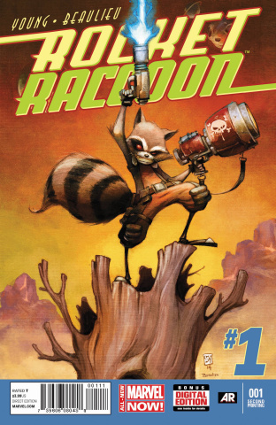 Rocket Raccoon #1 (2nd Printing)