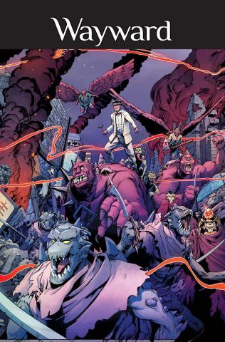 Wayward #28 (Cummings & Bonvillain Cover)