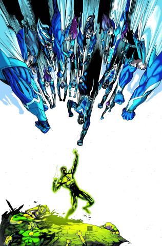 Green Lantern Corps #32 (Uprising)