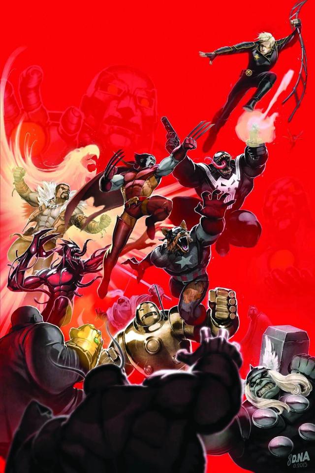 Longshot Saves the Marvel Universe #2
