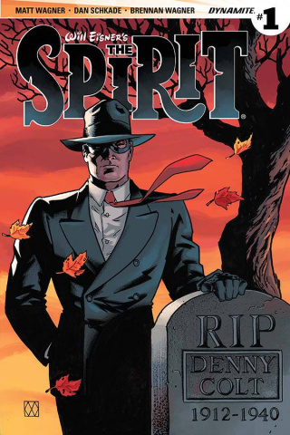 The Spirit #1 (Wagner Cover)