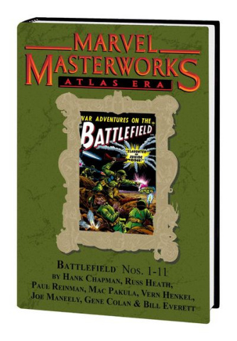 Marvel Masterworks: Atlas Era Battlefield Vol. 1 (Variant Edition)