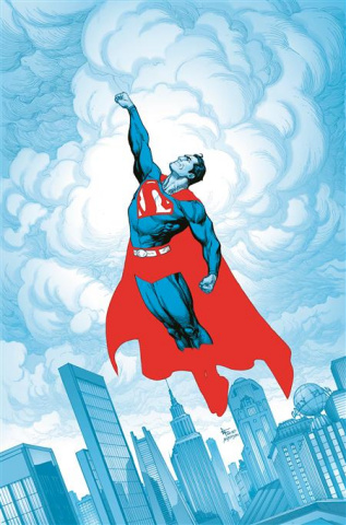 Superman: Red and Blue #1 (Gary Frank Cover)