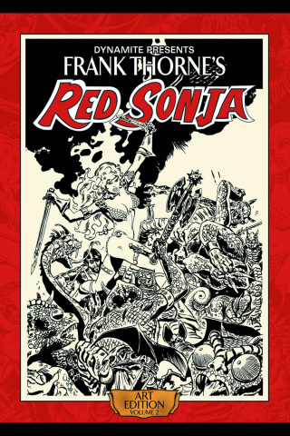 Frank Thorne's Red Sonja: Art Edition Vol. 2 (Signed)