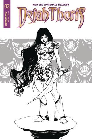 Dejah Thoris #3 (10 Copy McKone B&W Cover)