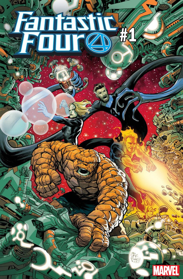 Fantastic Four #1 (Powell Cover)