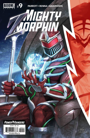 Mighty Morphin' #9 (Lee Cover)