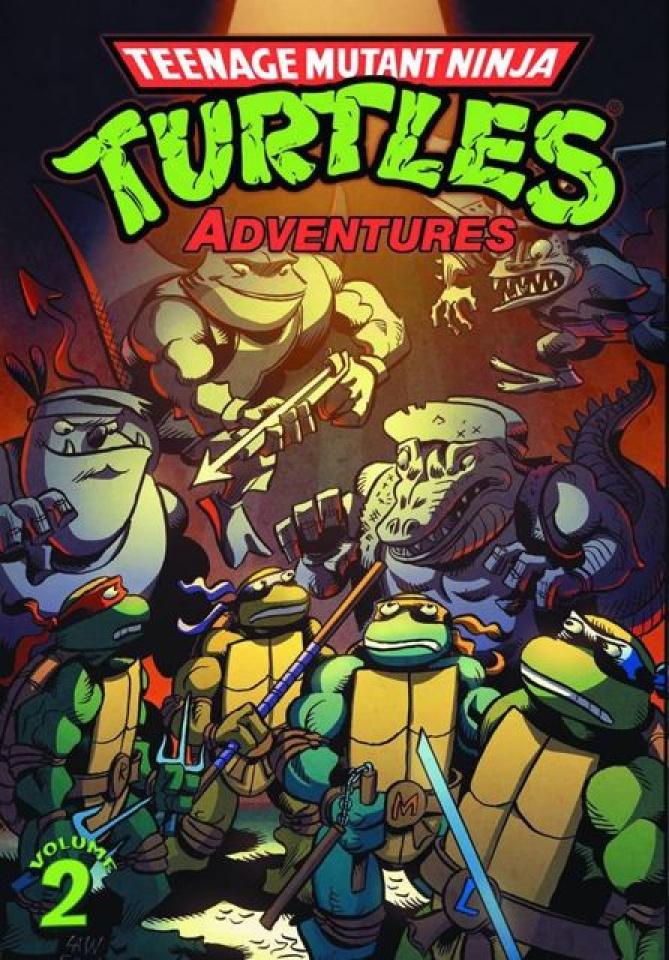 Teenage Mutant Ninja Turtles Adventures Vol. 2