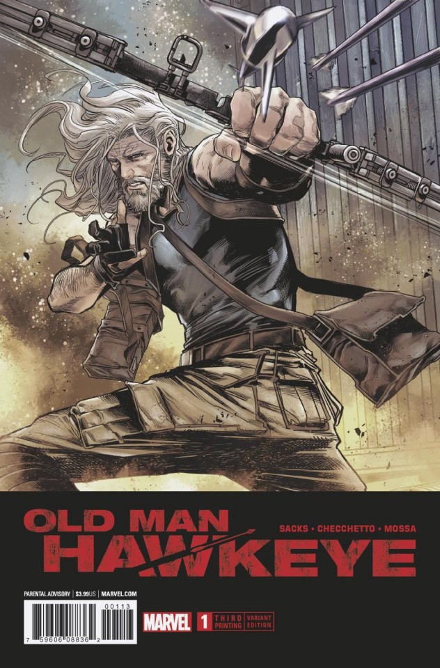 Old Man Hawkeye #1 (Checchetto 3rd Printing)