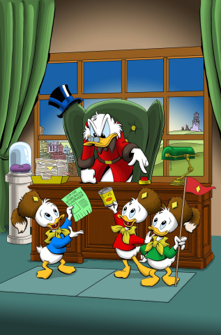 Uncle Scrooge #3 (Subscription Cover)