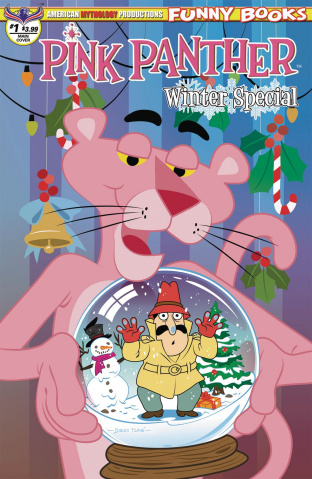The Pink Panther: Pink Winter Special #1 (Tapie Cover)