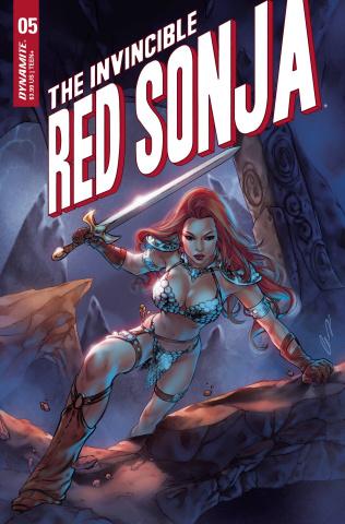 The Invincible Red Sonja #5 (Bonus Chatzoudis Cover)
