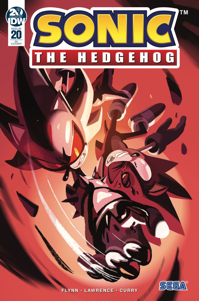 Sonic the Hedgehog #20 (10 Copy Fourdraine Cover)