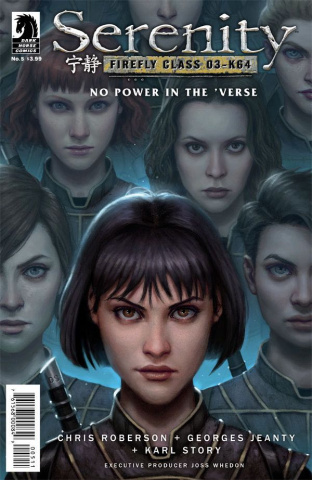 Serenity: No Power in the 'Verse #5 (Santos Cover)
