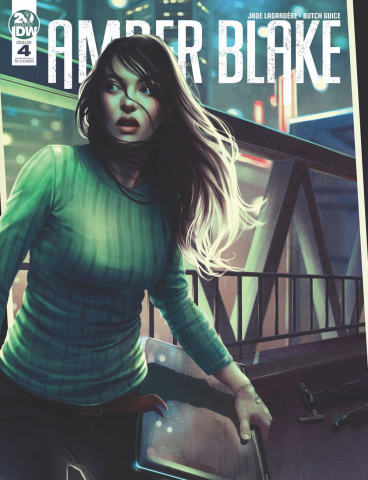 Amber Blake #4 (10 Copy Nodet Cover)