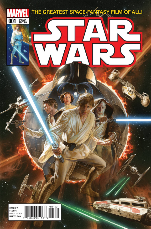 Star Wars #1 (Ross Cover)
