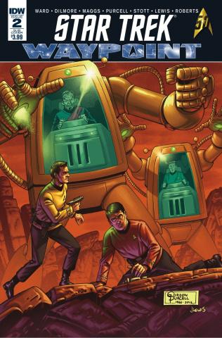Star Trek: Waypoint #2 (10 Copy Cover)
