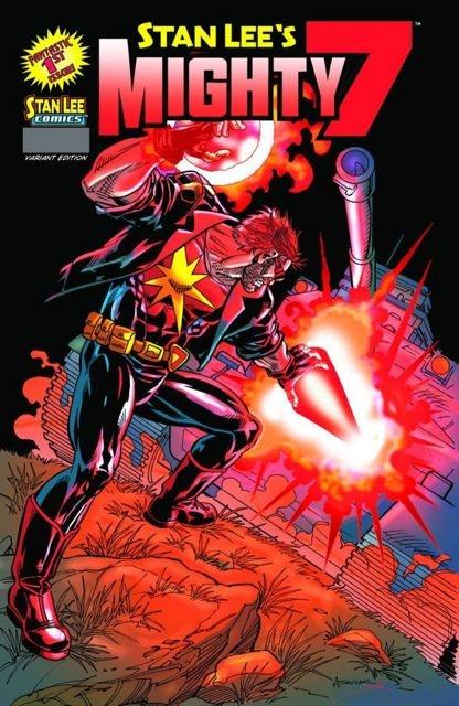 Stan Lee's Mighty 7 #1 (Saviuk Cover)