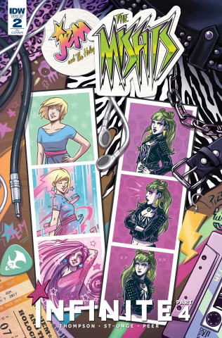 Jem and The Holograms: Misfits Infinite #2 (10 Copy Cover)