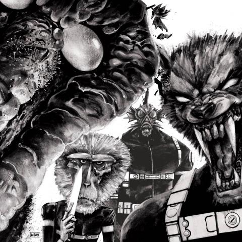 The Howling Commandos of S.H.I.E.L.D. #1 (Hip Hop Cover)