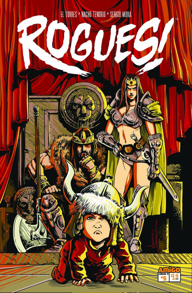 Rogues! #5: Odd Parenthood