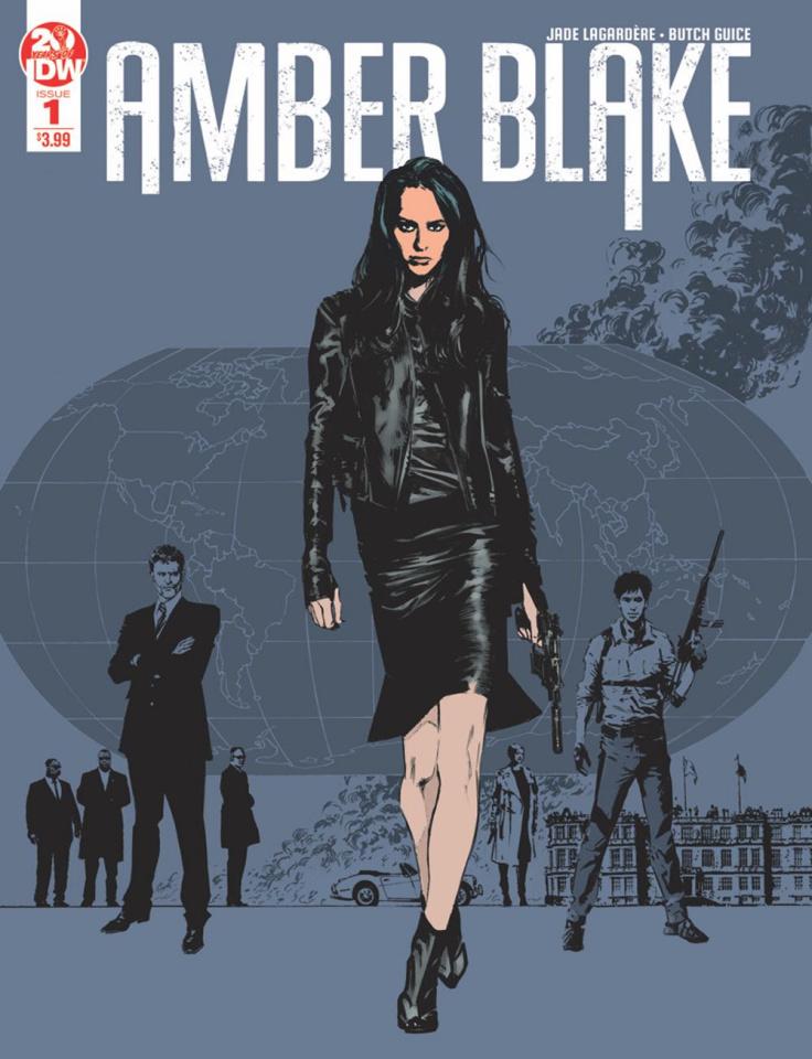 Amber Blake #1 (2nd Printing)
