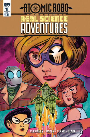 Real Science Adventures #1 (Subscription Cover)