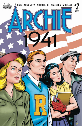 Archie: 1941 #2 (Krause Cover)