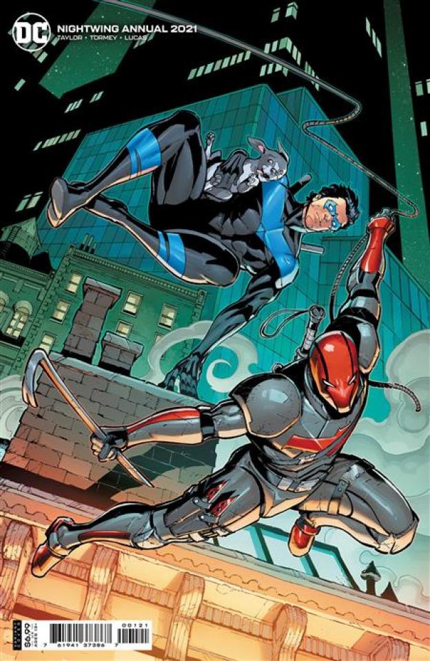 Nightwing 2021 Annual #1 (Max Dunbard Card Stock Cover)