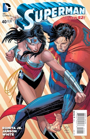 Superman #40 (Romita & Janson Cover)