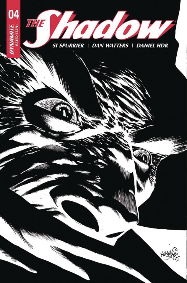 The Shadow #4 (10 Copy Jones B&W Cover)