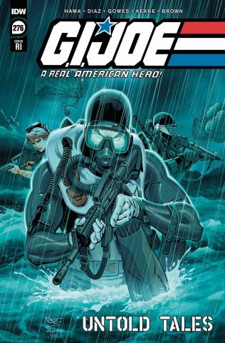 G.I. Joe: A Real American Hero #276 (10 Copy Royle Cover)