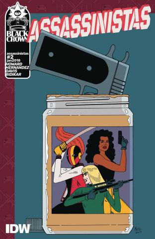 Assassinistas #2 (Hernandez Cover)