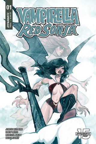 Vampirella / Red Sonja #1 (Tarr Cover)