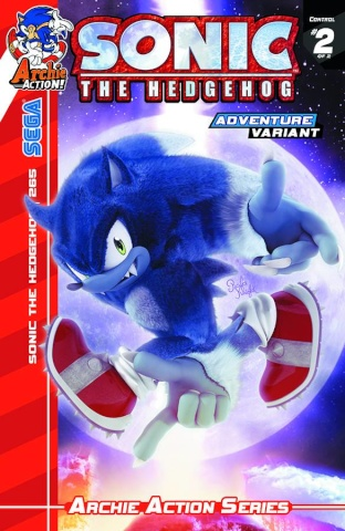 Sonic the Hedgehog #265 (Sonic Adventure Cover)