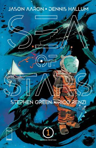 Sea of Stars #1 (2nd Printing)