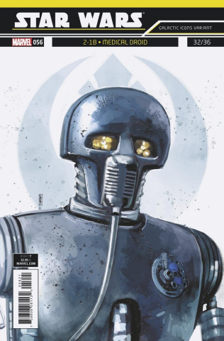 Star Wars #56 (Reis Galactic Icon Cover)
