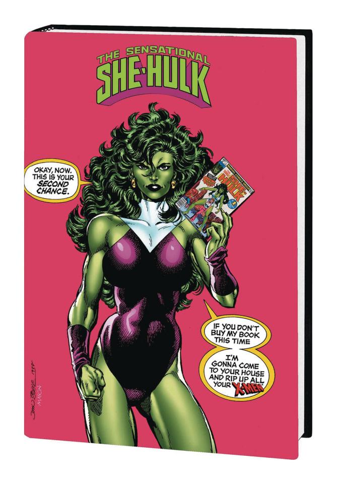 The Sensational She-Hulk by John Byrne (Omnibus)