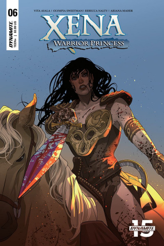 Xena: Warrior Princess #6 (Stott Cover)