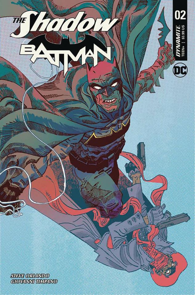 The Shadow / Batman #2 (Trakhanov Cover)