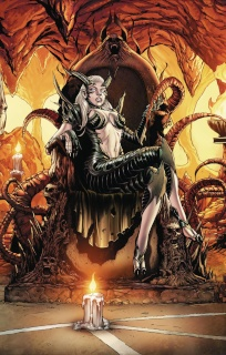 Grimm Fairy Tales: Satan's Hollow #2 (Spay Cover)