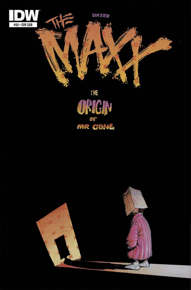 The Maxx: Maxximized #26 (Subscription Cover)