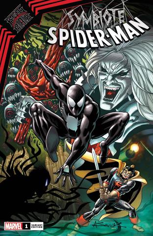 Symbiote Spider-Man: King in Black #1 (Saviuk Cover)